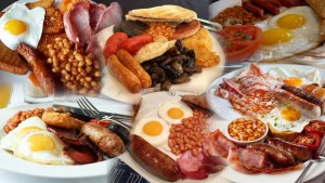 English Breakfast Collage
