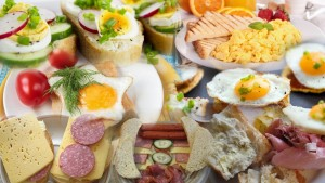 Lithuanian Breakfast Collage