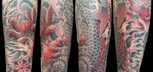 dragon_koi_half_sleeve_by_ashtonbkeje-d5kte80