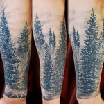 forest-sleeve-tattoo-with-sun